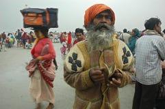 节日gangasagar印度 免版税库存照片