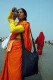 节日gangasagar印度 免版税库存图片