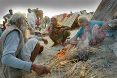 节日gangasagar印度 图库摄影