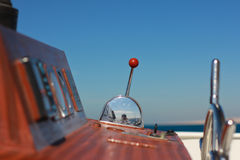 节流孔游艇 库存图片