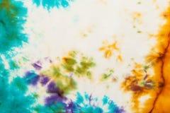 节状蜡染布的抽象模式 库存照片