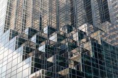 细节现代办公楼在纽约 免版税库存照片