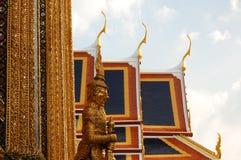 细节盛大王宫曼谷泰国 库存图片
