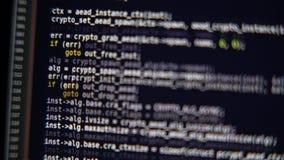 节目代码在显示器移动 股票录像