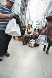 节礼日是年的最繁忙的购物天 免版税库存照片