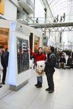 节礼日是年的最繁忙的购物天 图库摄影