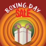 节礼日销售 圣诞节广告剪报面具箱子和eps 10 上色,蓝色、灰色、红色泡影和球 特别海报 v 库存图片