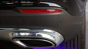 细节秀丽和快速sportcar 库存照片