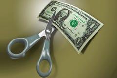 节约金钱赊帐的营销 库存图片