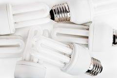 节能器电灯泡 免版税图库摄影