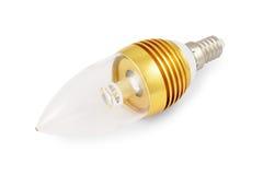 节能大功率LED电灯泡 免版税库存图片