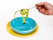 节食吃健康 图库摄影