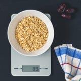 节食概念,适当的营养,健康吃 免版税库存照片
