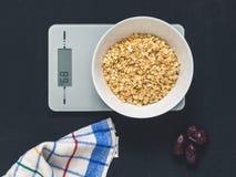 节食概念,适当的营养,健康吃 库存照片