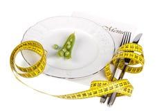 节食的极端 免版税图库摄影
