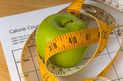 节食的项目 库存照片