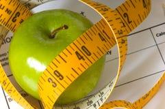 节食的项目 库存图片