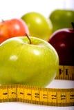 节食的项目 免版税库存照片