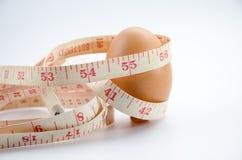 节食的鸡蛋 免版税库存照片