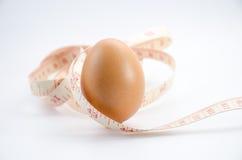 节食的鸡蛋 免版税库存图片