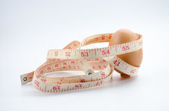 节食的鸡蛋 图库摄影