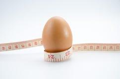 节食的鸡蛋 库存照片
