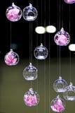 节食盘玻璃评定集合表磁带水 库存照片
