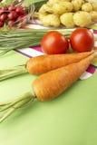 节食蔬菜 图库摄影