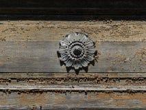 细节,木房子 免版税图库摄影