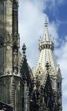 细节维也纳的大教堂 免版税库存照片