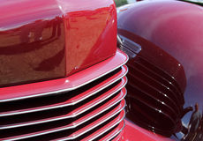 细节经典美国汽车 图库摄影