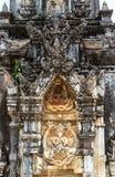 细节Ing吊Stupa在Savannakhet,老挝 库存图片