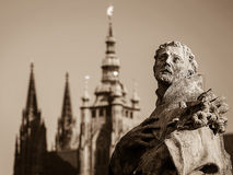细节lof老布拉格 免版税图库摄影