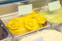芒果冰糕 库存图片