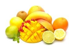 芒果和其他果子 免版税库存照片
