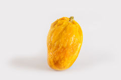 从芒果的里面 免版税库存照片