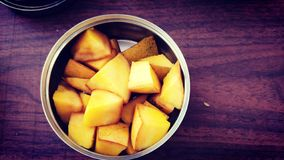 芒果食物摄影 库存照片