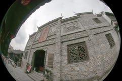 芙蓉山古镇  图库摄影