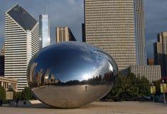 芝加哥云彩门伊利诺伊 免版税库存照片