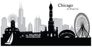 芝加哥伊利诺伊 库存照片