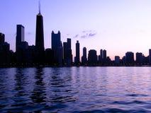 芝加哥分级显示 库存图片