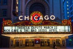 芝加哥剧院 免版税图库摄影