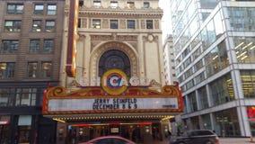 芝加哥剧院 库存照片