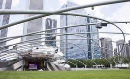 芝加哥千年公园 免版税图库摄影