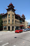 芝加哥唐人街 库存图片