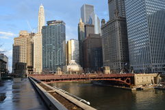 芝加哥地区 库存照片