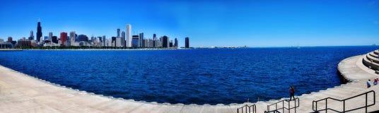 芝加哥地平线摩天大楼 库存照片