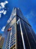 芝加哥地平线摩天大楼 库存图片