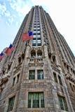 芝加哥地平线摩天大楼 免版税图库摄影