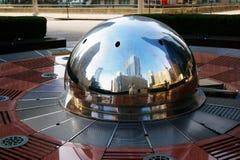 芝加哥地平线,美国 免版税图库摄影